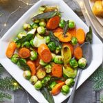 3-in-1 brown-buttered winter vegetables