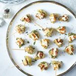 Cheese & pineapple canapes