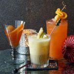 Aperol & limoncello cocktail