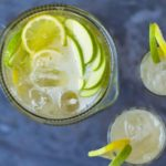 Apple prosecco punch
