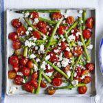 Chicken garden salad with elderflower dressing