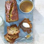 Sticky banoffee loaf with toffee sauce