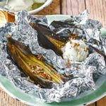 Barbecued banoffee splits