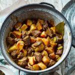 Beef & swede casserole