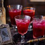 Blood beetroot cocktails