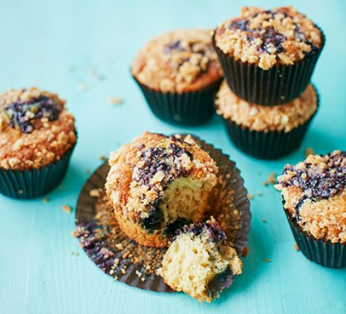 Blueberry Bakewell muffins Recipe