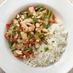 Brazilian prawn & coconut stew