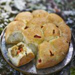 Tear-and-share stuffed deli rolls