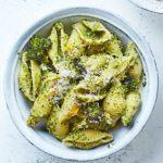Broccoli pasta shells