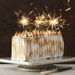 Maple & pear ruffle cake