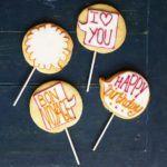 Caption cookies