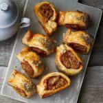 Caramelised onion & thyme sausage rolls