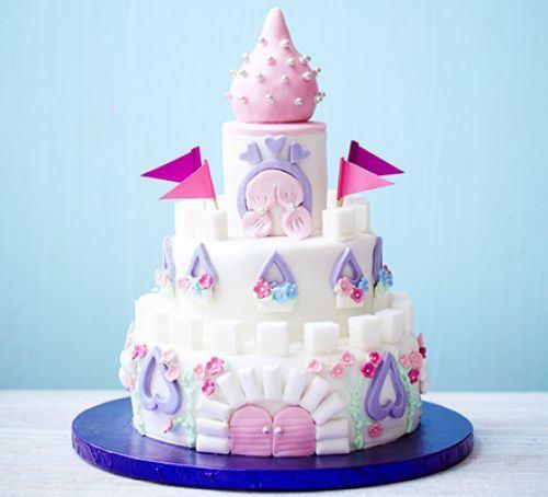 Easy castle cake Recipe