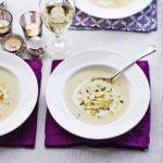 Cauliflower & apple soup