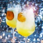 Cava cocktail