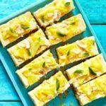 Tropical cheesecake bars