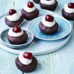 Cherry brownie babycakes