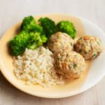 Lemon & fennel pork meatballs
