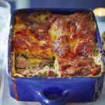 Chicken & ham lasagne