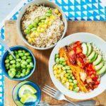 Chicken & veg bowl