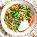 Chickpea tagine soup