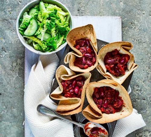 Muffin tin chilli pots Recipe