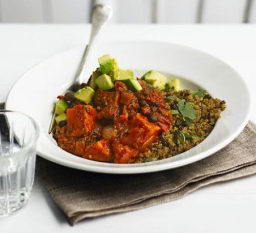 Quick chilli bean wraps Recipe