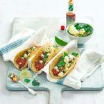 Halloumi kebabs with thyme & lemon baste