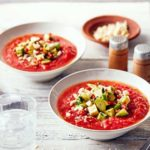 Chipotle gazpacho