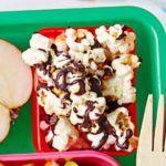 Chocolate-drizzled popcorn