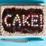 Chocolate traybake