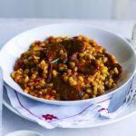 Chorizo & rosemary pearl barley risotto