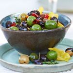 Citrus & fennel marinated olives