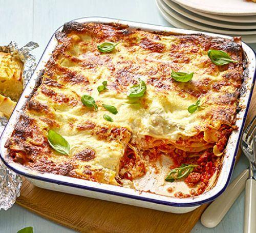 Easy classic lasagne Recipe