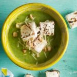 Satay chicken noodle soup with squash