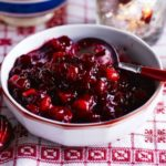 Cranberry & marmalade sauce