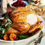 Roast turkey with lemon & garlic