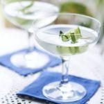 Cucumber martinis