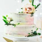 Easiest ever wedding cake