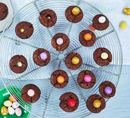 Easter brownie bites Recipe