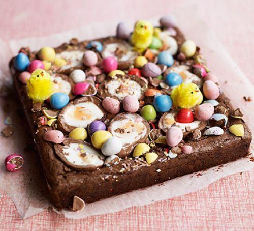 Easy egg brownie Recipe