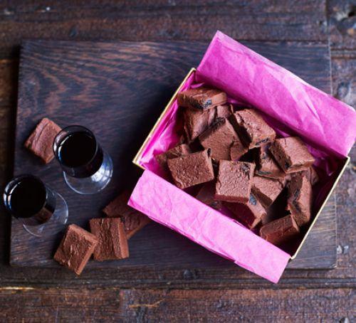 Fast truffle fudge Recipe