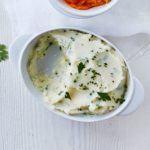 Garlic & herb mash