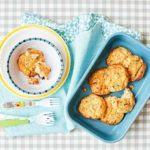 Toddler recipe: Cauliflower cheese cakes