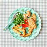 Toddler recipe: Salmon fish fingers with chunky chips