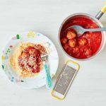 Batch cook mini pork & veg Meatballs recipe