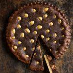 Chocolate egg baked tart