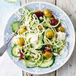 greek courgetti salad