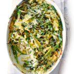 Green bean mac 'n' cheese