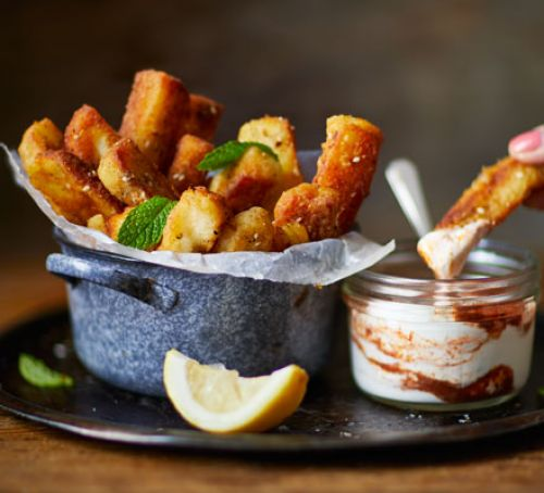 Halloumi fries Recipe